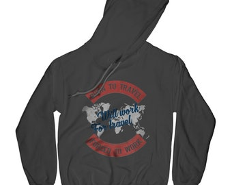 Traveler hoodie explore the world hoodie fathers day gift hikinh hoodie mountaind hoodie adventure hoodie road trip hoodie husband gift AP1