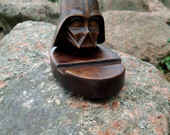 Fathers day gift Gift for men mans gift Star wars Gift for husband Boyfriend gift Darth Vader Phone docking Charging station Star wars décor
