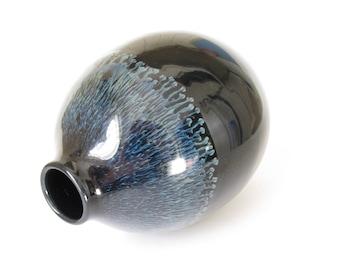 Black Bud Vase, Black Pottery Vase, Small Vase, Black Ceramic Vase, Ceramic Bud Vase, Pottery Bud Vase, Pottery Vase, Handmade Vase
