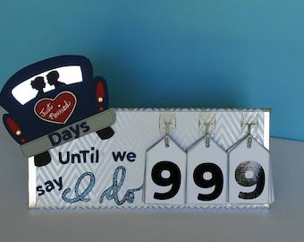 Wedding Countdown Calendar