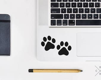 Paw Print Decal, dog lover gift, Paw Print Car Decal, Laptop Stickers, Laptop Decal, car decals for women, dog car decals, car decals, vinyl