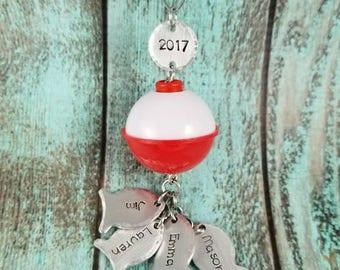 Fishing theme Christmas ornament, Fishing buddies Christmas ornament, Christmas tree decoration, Christmas tree ornament, Fishing Ornament