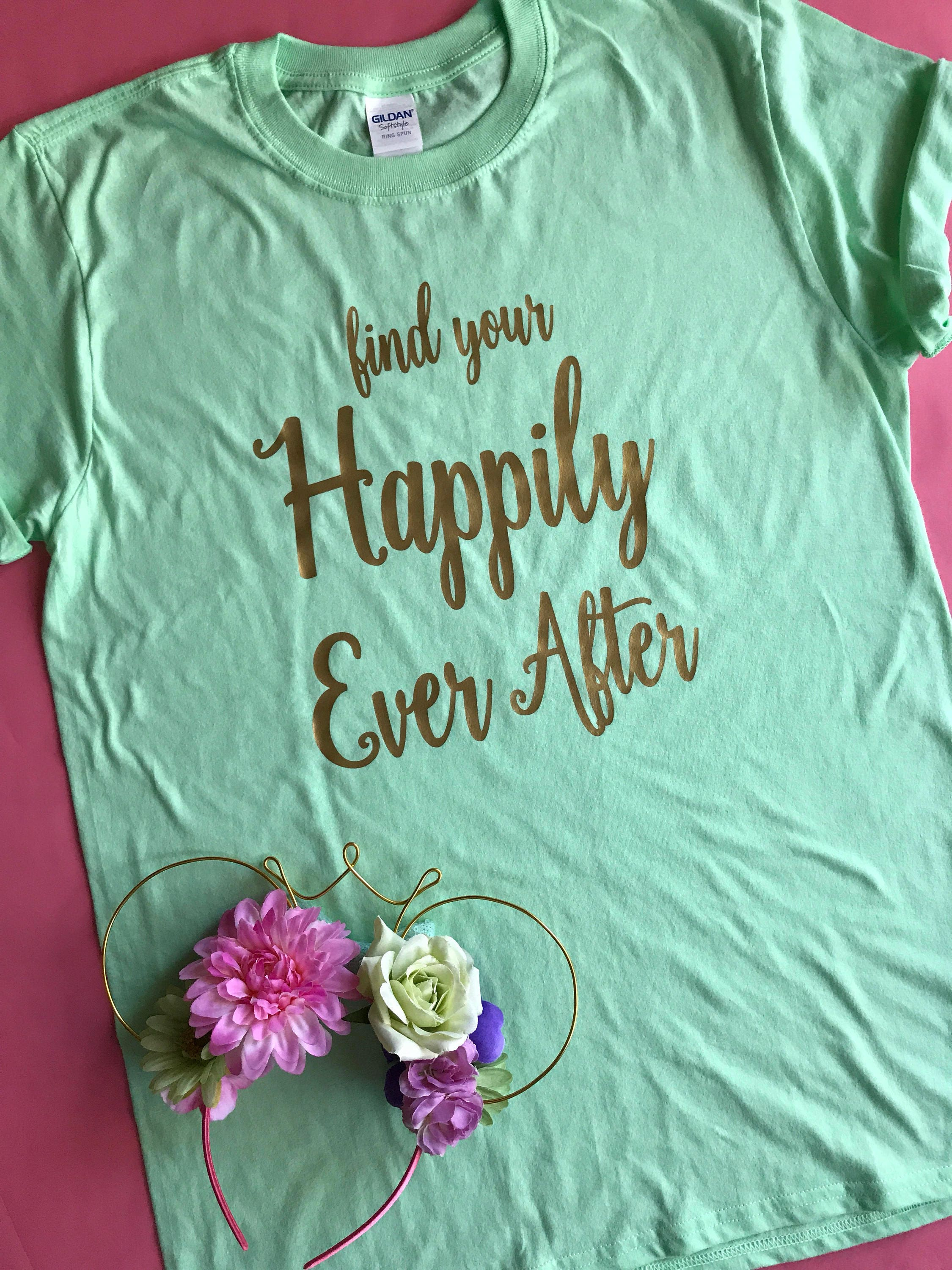 Find your happily ever after disney parks disney world for Disney happily ever after shirt