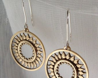 Amulet of the Sun Earrings
