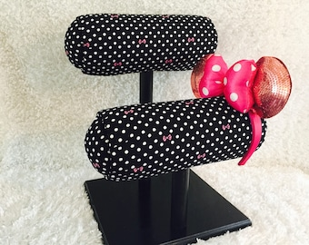 Polka Dots and Bows- Different Base Colors Available