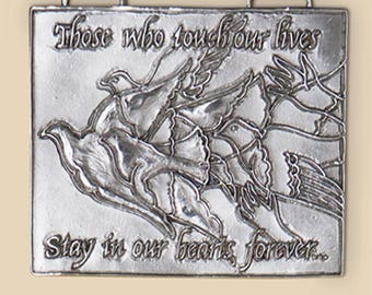 Remembrance Wall Plaque