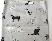 Catheter Bag Cover, Catheter Tubing Cover, Urine Bag Cover, Drainage Bag Cover, Catheter Bag Holder, Wheelchair Accessories, CATS ON GRAY