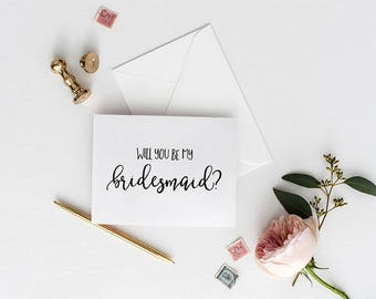 Will you be my bridesmaid, Cards,  Bridesmaid Proposal Card, Bridesmaid Request Card, Wedding Card Bridesmaid, Card For Bridesmaid, GC150