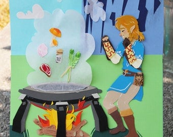 Link Cooking - Paper Art