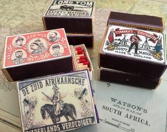 Victorian Matchboxes