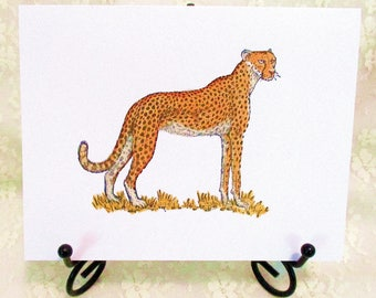 Cheetah Card: Add a Greeting or Leave Blank