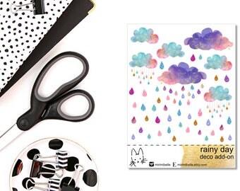 Rainy Day - Deco Add-On Sticker
