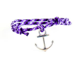 Mens Rope Bracelet, Mens Infinity Bracelet Men, Zodiac Bracelet