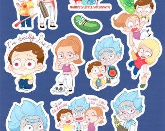 RaM Sticker Set