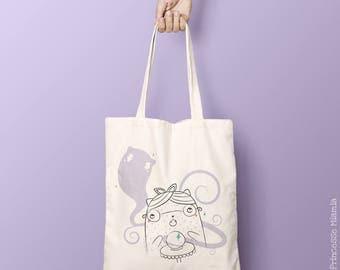 Organic cotton Tote Bag * Irma Ouija *.