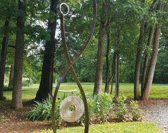 Metal Sculpture Garden Art Abstract Sculpture Metal Art Outdoor Sculpture  Garden