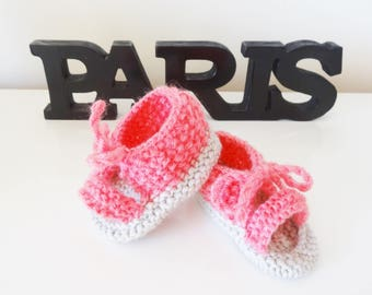 sandals baby 3/4 month in pink