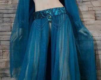 Genie costume /Harram girl/belly dancer outfit/Arabian night costume