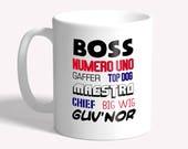 Funny mug: gift for boss ...