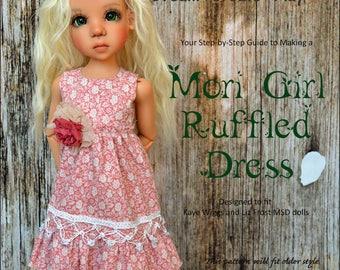 Mori Girl Ruffled Dress for Kaye Wiggs & Liz Frost MSD dolls