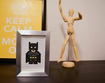Cross Stitch Batman