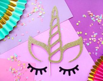 Unicorn Cake Topper, Unicorn Party, Unicorn Cake Topper, Unicorn Decoration, Unicorn Decor, Unicorn Party Supply, Unicorn Horn, Cake Topper