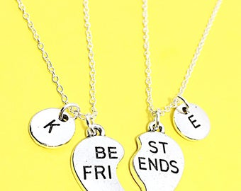 Were Best Friends Charm Necklace, Best Friend necklace for 2, Custom BFF,BFF Necklace, Bff Friendship Jewelry, Gift For Best Friends Forever