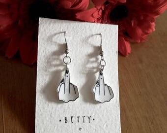 F**k earrings #2