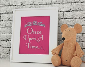 Princess Wall Art princess wall decor | etsy