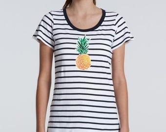 Pineapple Tshirt, Womens Tee, Womens Tshirt, Fashion Tshirt, Ladies Tee, Cute Tshirt, Ladies Tshirt, Women's Fashion, Women's Tshirt