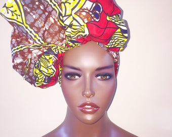 download how to tie an african head wrap video