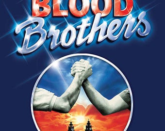 Blood Brothers Musical Theater Poster A3 or A4 Matt