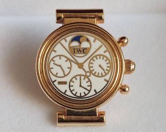 ARTHUS BERTRAND IWC Pin/Tie Tack, Vintage Arthus Bertrand Paris I.W.C Pin Tie Tack, I.W.C. By Arthus Bertrand Pin Tie Tack, I.W.C. Tie Pin