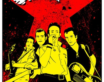 POSTER: The Clash at Barbarella's May 3