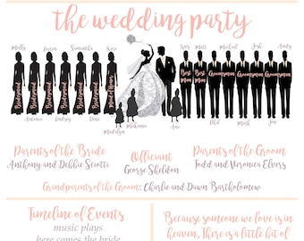 PRICE VARIES by item!!!Wedding, Bridal Shower, Decorations, Decor, Programs, Hashtag, Home Decor, Our Story, Menus, Personalized, Customized