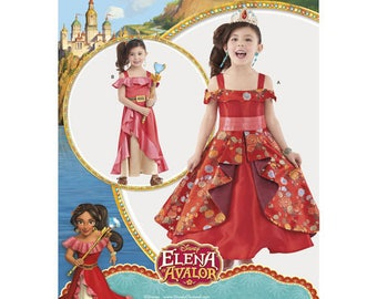 Sewing Pattern for Disney Elena of Avalor Child's Costume, Simplicity 8479, Halloween, Dress-up, Cosplay, Avalor's Elena Costume