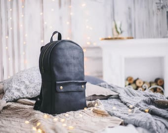 Leather Backpack, Mens Backpack, Leather Rucksack Men, Office Bag, Travel Bag, leather backpack for women, women backpack, backpack