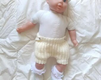 Bloomer shorts for baby from 3 months