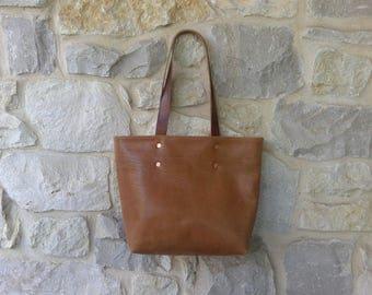 Medium, Horween Leather Tote Bag