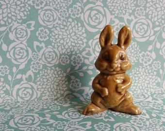 1970s Wade Whimsie Comic Rabbit - Sharps Chocolate - Honey Brown