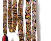 Handwoven Multicolor Guatemalan Strap