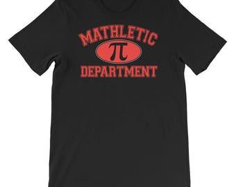 Mathlete Tee - Mathlete Gift - Mathematics Tee - Cool Math Shirt - Math Joke Shirt - Mathletic Department Shirt - Math Competitor