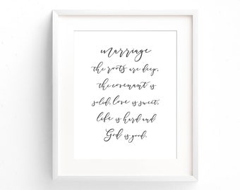 Love Quote print - John Piper Quote - Monochrome Print - Gifts Under 20 - Anniversary Gift - Typography Print - Minimal Print - Wedding Gift