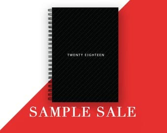 SAMPLE SALE \2018 Diary \ A5 \ 2018 Weekly Planner \ Diary \ 2018 Agenda \ 2018 Planner \ Planner \Christmas Gift \Gift for her\Gift for him