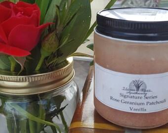 Rose Geranium Patchouli Vanilla