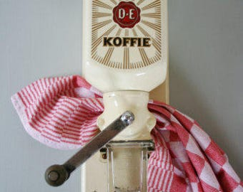 wall Coffee Grinder old from Douwe Egberts Coffee