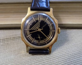 New-Old-Stock Vintage Soviet watch Victory (Pobeda), Mechanical Watch, 1980, perfect condition!