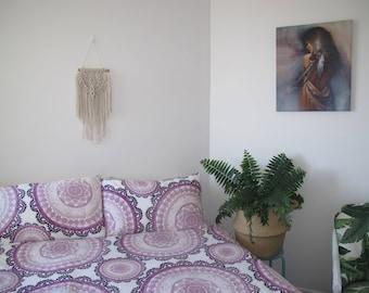 Petite natural Macrame Wall Hanging