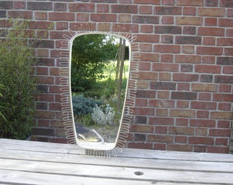 Miroir vintage. 70's Mirror. No copy.  France