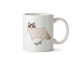 Ragdoll Mug (girl)